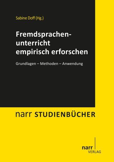 Fremdsprachenunterricht empirisch erforschen PDF