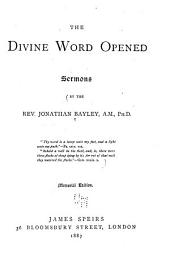 The Divine Word Opened: Sermons