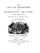 The life and adventures of Robinson Crusoe: from the original work of Daniel Defoe