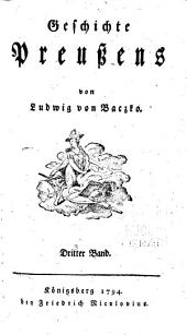 Geschichte Preussens: Bände 3-4
