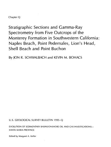 Strontium Isotope Evidence for the Age of the Vaqueros Formation and Latest Oligocene Marine Transgression in the Northern Santa Maria Province  Central California PDF