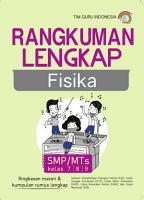 Rangkuman Lengkap Fisika  SMP   MTs kelas 7 8 9 PDF