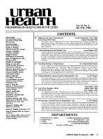 Urban Health PDF