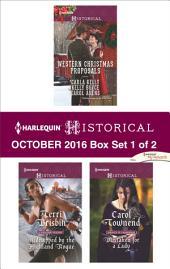 Harlequin Historical October 2016 - Box Set 1 of 2: An Anthology