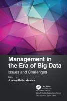 Management in the Era of Big Data PDF