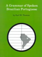 A Grammar of Spoken Brazilian Portuguese PDF