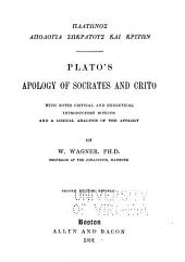 Plato's Apology of Socrates and Crito