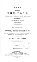 The Laws Relating to the Poor PDF