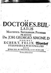 Doctores bullatos