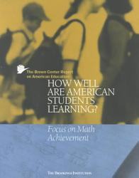 The Brown Center Report On American Education Book PDF