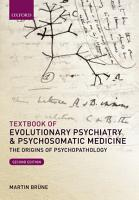 Textbook of Evolutionary Psychiatry and Psychosomatic Medicine PDF