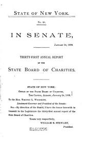Documents of the Senate of the State of New York: Volume 3; Volume 5