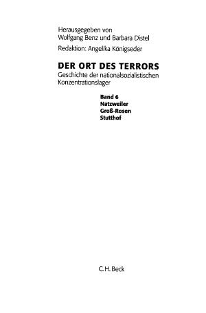 Der Ort des Terrors PDF