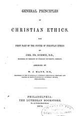 General Principles of Christian Ethics PDF