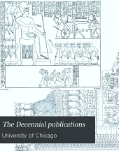 The Decennial publications