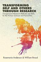 Transforming Self and Others through Research PDF