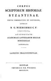 Laonici Chalcocondylae Atheniensis historiarum libri decem
