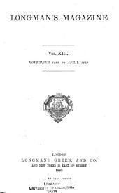 Longman's Magazine: Volume 13