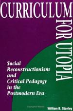 Curriculum for Utopia