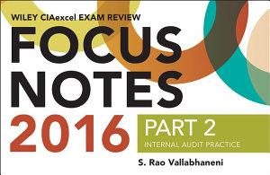 Wiley CIAexcel Exam Review 2016 Focus Notes PDF