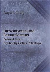 Darwinismus Und Lamarckismus