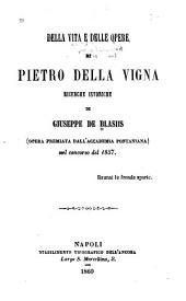 Della vita e delle opere di Pietro della Vigna