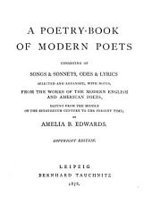 A Poetry-book of Modern Poets