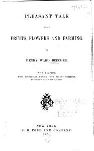 Pleasant Talk about Fruits  Flowers and Farming PDF