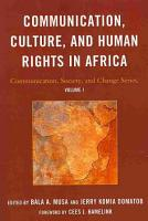 Communication  Culture  and Human Rights in Africa PDF