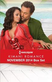 Harlequin Kimani Romance November 2014 Box Set: Twelve Days of Pleasure\Falling into Forever\Red Velvet Kisses\Vegas, Baby