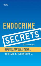 Endocrine Secrets E-book: Edition 6