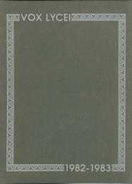 Vox Lycei 1982-1983