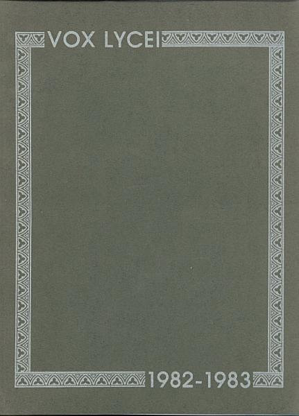 Vox Lycei 1982 1983