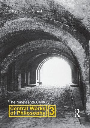 Central Works of Philosophy v3