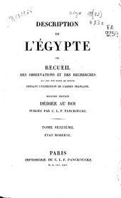 Description de l'Egypte ou Recueil des observations et des recherches qui ont été faites en Égypte pendant l'expédition de l'Armée Française