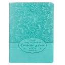 Journal Turquoise Luxleather Everlasting Love