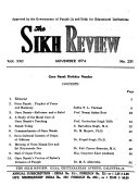 The Sikh Review PDF