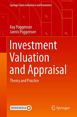 Investment Valuation and Appraisal