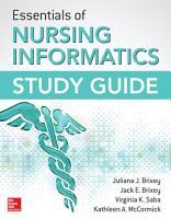 Essentials of Nursing Informatics Study Guide PDF