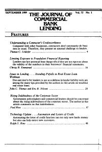 The Journal of Commercial Lending PDF