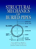 Structural Mechanics of Buried Pipes PDF