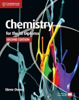 Chemistry for the IB Diploma Coursebook with Free Online Material PDF