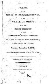 Journal of the House of Representatives of the State of Ohio: Volume 25