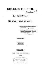 Le nouveau monde industriel ...