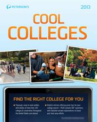 Cool Colleges 101 The Western Region Of The United States Book PDF