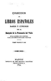 Colección de libros españoles raros ó curiosos: Volumen 22