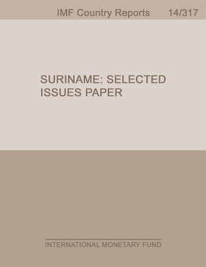 Suriname  Selected Issues Paper PDF