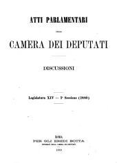 Atti parlamentari della Camera dei deputati: Volume 1