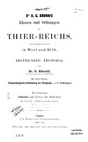 Dr  H G  Bronn s klassen und ordnungen des thier reichs  bd  Protozoa  Von dr  O  B  tschli  Mit einem beitrag  Palaeontologische entwicklung der Rhizopoda  von C  Schwager  1880 89 PDF