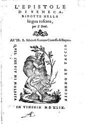 L'epistole, ridotte nella lingua toscana, per il Doni